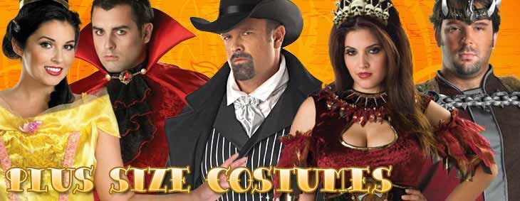 Costume Craze offers stylish plus size costumes for adults; whether you're looking for a priest costumes, vampire costumes, plus size nun costumes, French maid costume, or plus size Cleopatra costume you find it here.
