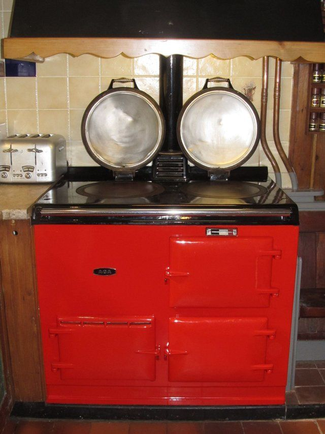 Old Fashioned Kitchen Hob ~ Best red enamel range cookers and aga stoves for