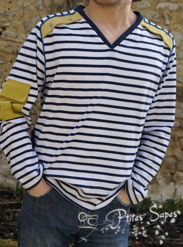 Tee shirt jersey pour l'amoureux