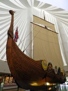 Hjemkomst Viking Ship in Moorhead Minnesota. #OnlyinMN