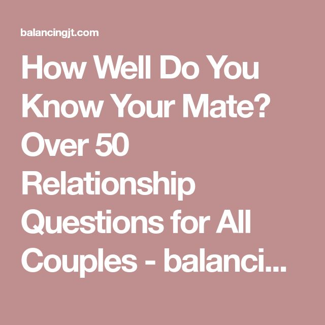 How Well Do You Know Your Partner Quiz: Best 25+ Relationship Questions Ideas On Pinterest