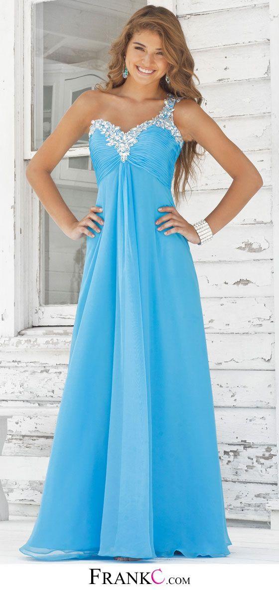 blue prom dress,long prom dress