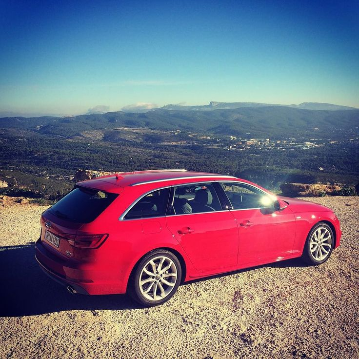 Audi A4 Avant sport 2.0 TFSI quattro 252PS 370Nm in the mountains Around #cassis #testdrive #autovideoreview #carsofinstagram #cars #carporn #audia4 #audi #quattro #testdrive