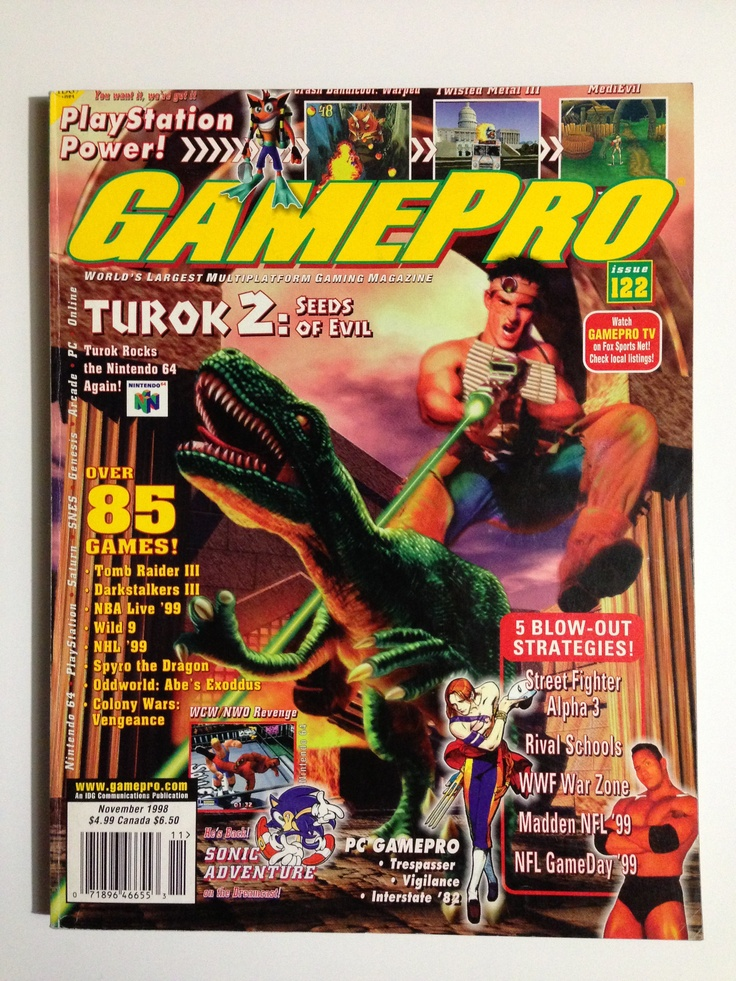 GamePro Magazine Lot of 5 issues from 1996 game pro
