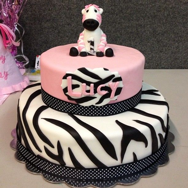 Best 25+ Zebra Birthday Cakes Ideas On Pinterest