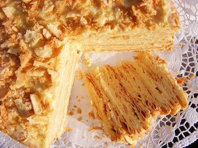 szeretetrehangoltan: Napóleon torta