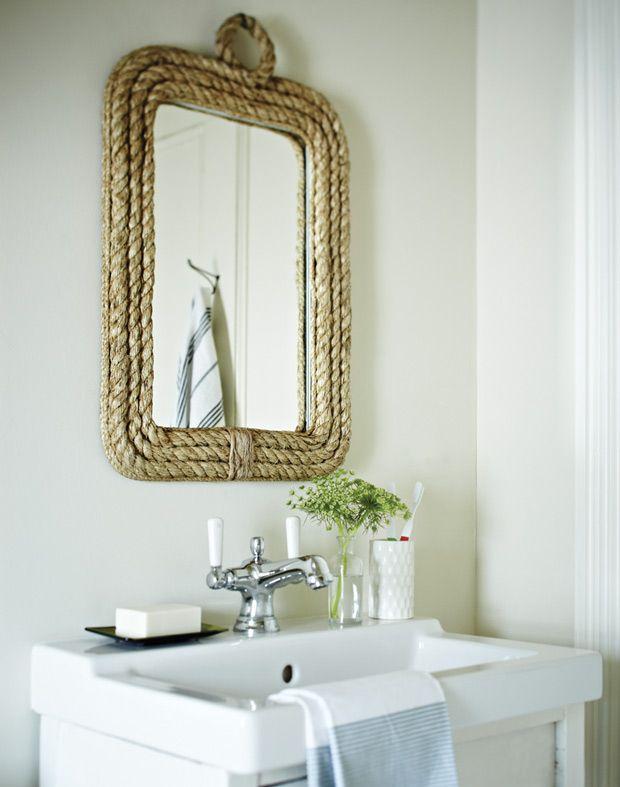 17 meilleures id es propos de miroir de corde sur pinterest d cor de plage chambre chambre - Miroir rond avec corde ...