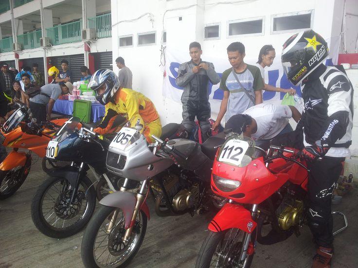 Prepare Race at sentul international circuit