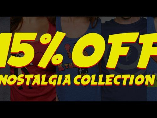 15% off the Nostalgia Collection at The Chivery