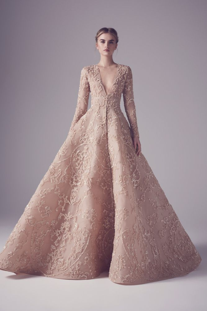 Mohammed Ashi Spring 2016 Haute Couture