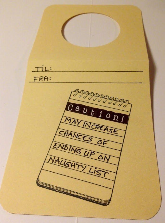 Tag - naughty list