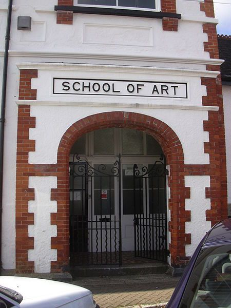Falmouth School of Art, Arwenack Avenue, Falmouth