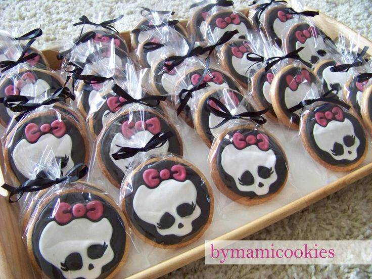 Monster High decoirations | bymamicookies, DELICIOSAS GALLETAS DECORADAS: Galletas Monster High