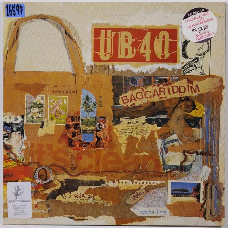 Ub40 Baggariddim Music Art Pinterest Lps Album