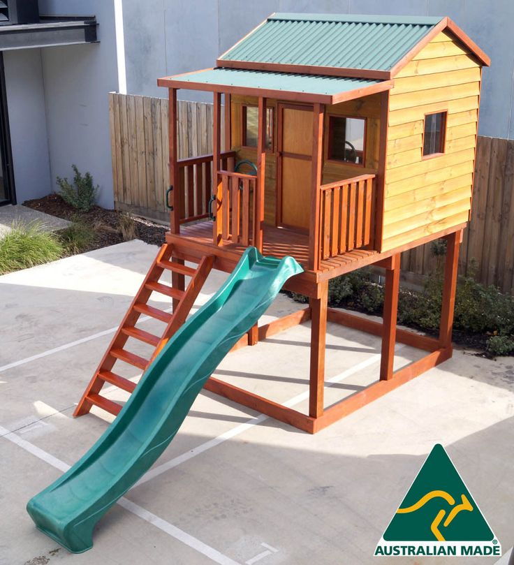 $1940   THE Emerald Brand NEW Outdoor Wooden Timber Kids Cubby House  Australian Made | EBay