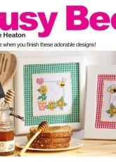 Honey Bees Cross Stitch Crazy Issue 140 August 2010 Hardcopy