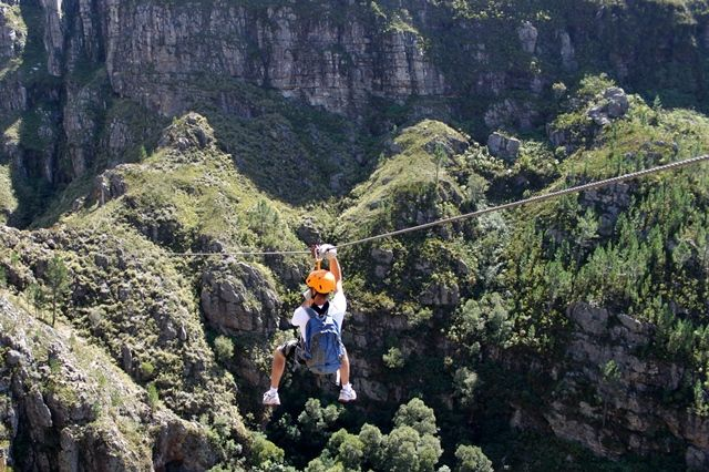Hottentots Holland Nature Reserve Canopy Tours.