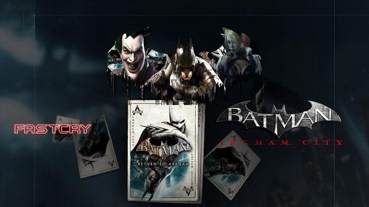 Batman: Return to Arkham - Arkham City Bruce Wayne e Hugo Strange