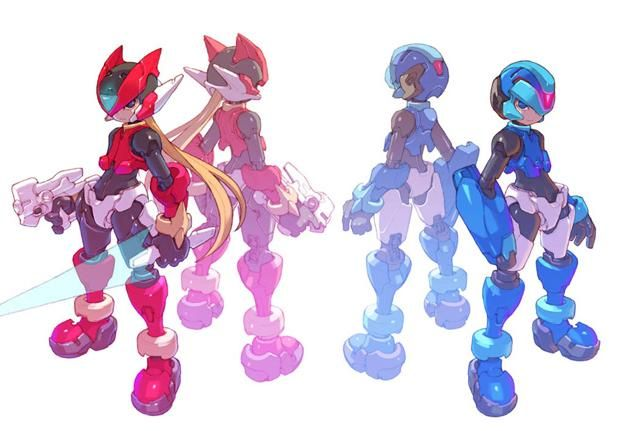 megaman zero z hd - Google Search