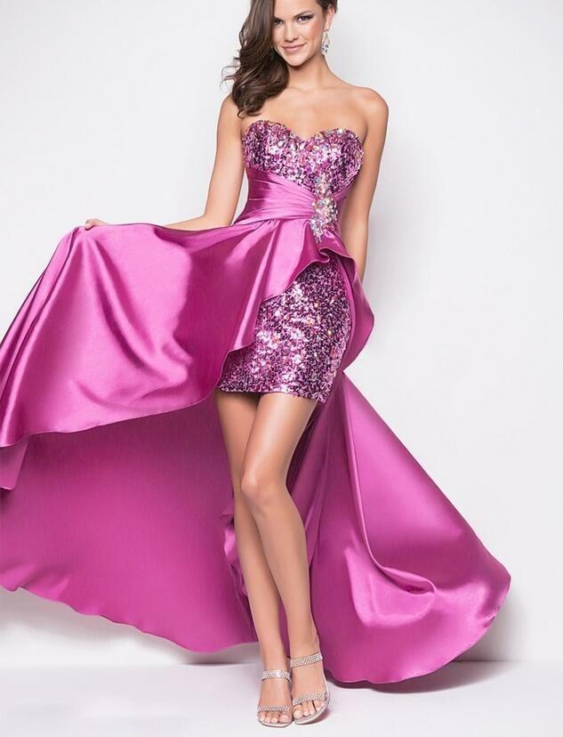 violet cocktail dresses
