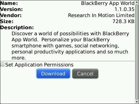 Descargar BlackBerry World última versión