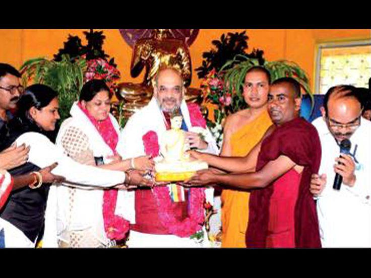 Amit Shah emulates Rahul Gandhi's temple run visits religious places