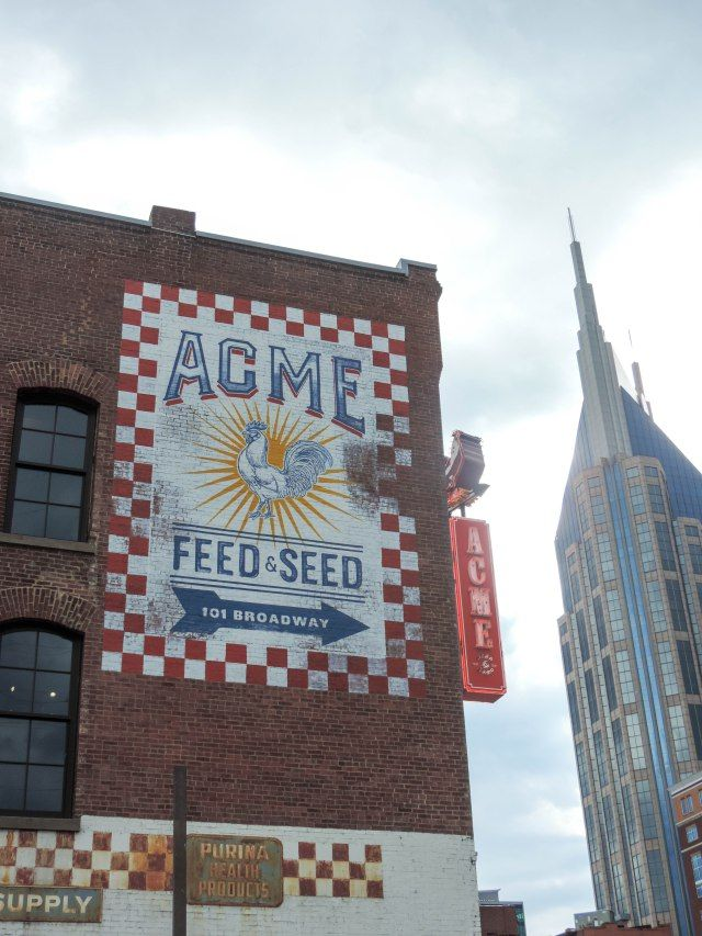 Nashville Travel Guide- Acme Feed & Seed