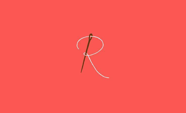 Logo for Rosalyn - maker of custom totes.