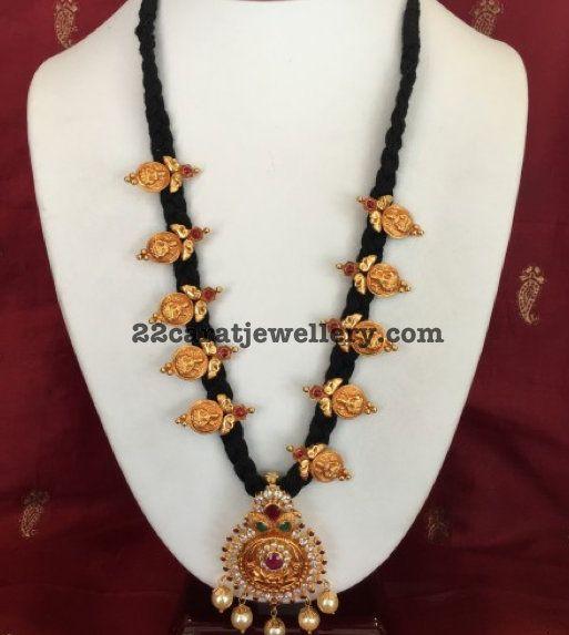 29grams Black Thread Necklace