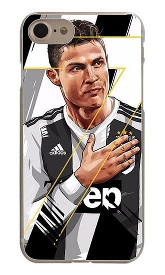 Cristiano Ronaldo Apple iPhone Case 6 7 8 Plus X Juventus Jersey 2018 2019  CR7Juve Hard Plastic  3 358c543ac