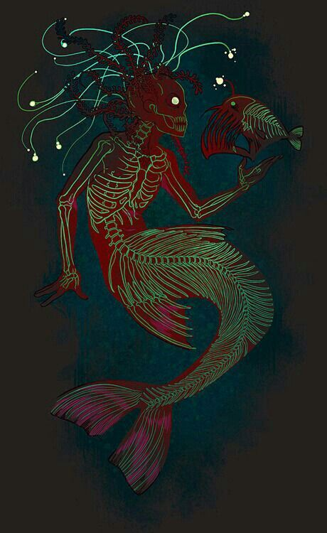 Scary mermaid                                                                                                                                                                                 More