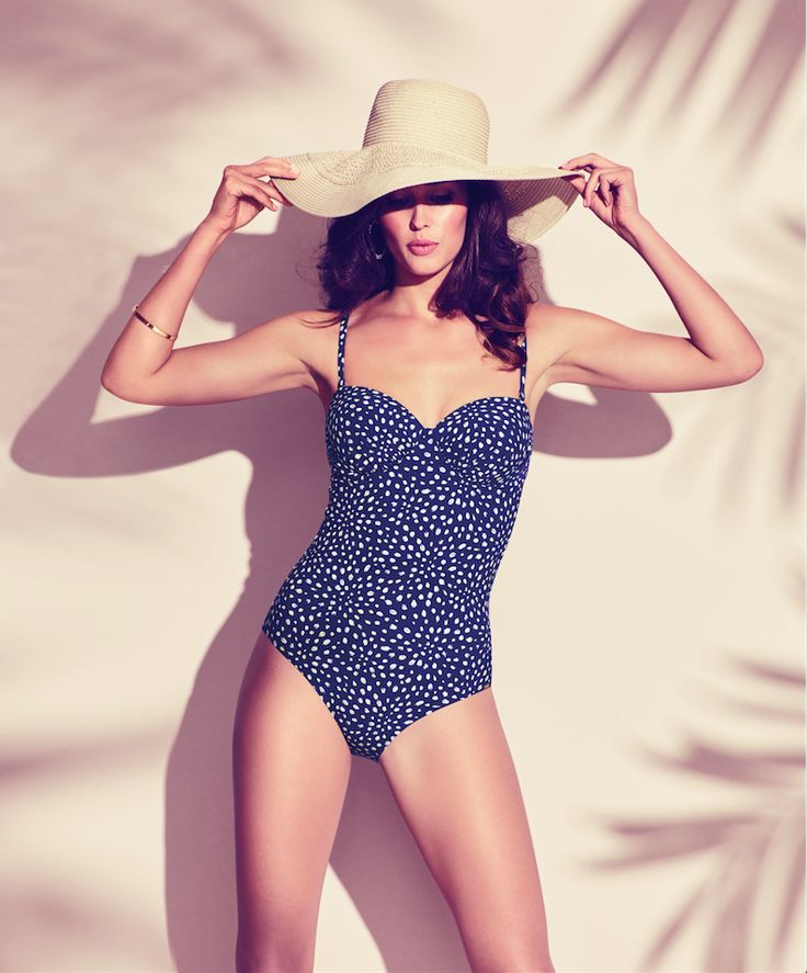 This versatile swimsuit from the Painted Leaves collection is a true fashion statement