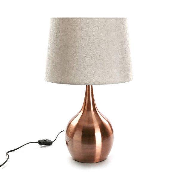 Stolová lampa Versa Copper Base