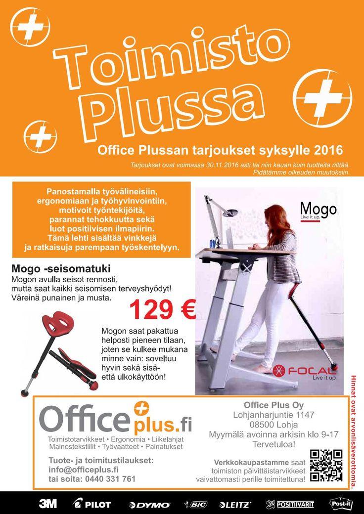 Toimisto Plussa - Office Plussan kampanjalehti 08-11/2016