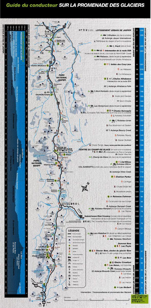 La promenade des Glaciers
