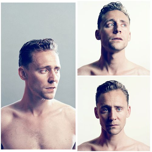 Tom Hiddleston omg. Never really thought he was that hot before, but holy hell he looks mighty fine here!