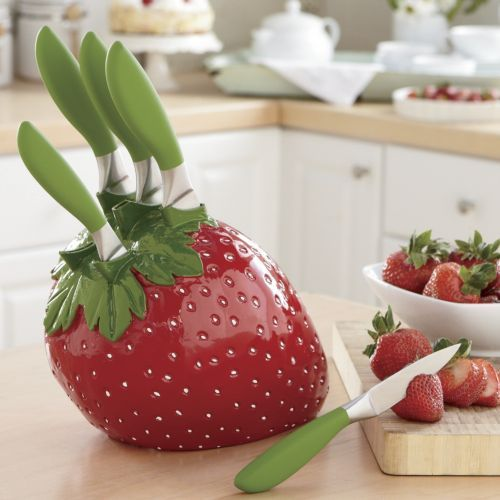 Top 29 Ideas About Strawberry Kitchen On Pinterest