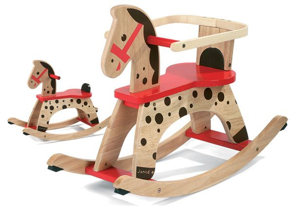 Classic rocking horse, comes with gaurd for support young children which can be removed as children grow … Continue reading →