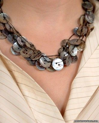 "See the ""Button Necklace"" in our Handmade Button Jewelry gallery"