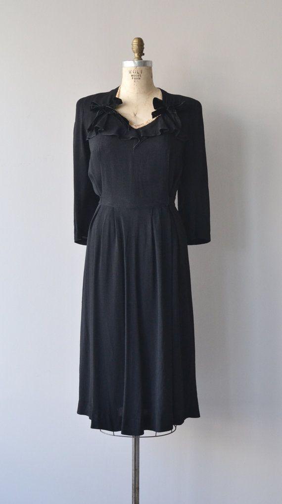 Lady Miss dress 1930s maternity dress vintage 30s by DearGolden