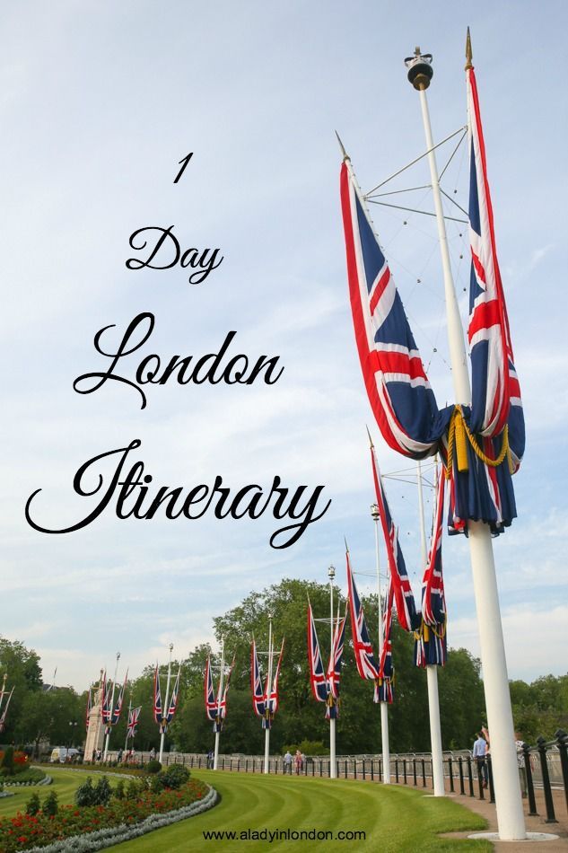 1 day in London travel itinerary for first-time visitors to the UK capital.
