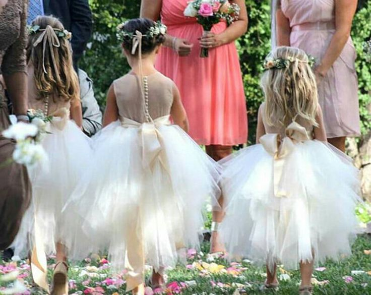 Cute Flower Girl Dresses,Girl Pageant Gown for Wedding Party,Baby Tutu Dresses,Tulle Flower Girl Dresses,Puffy Flower Girl Gowns,Kids Evening Gowns