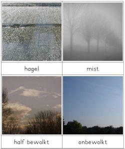 legwerkje over het weer - MontessoriNet