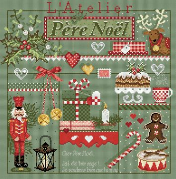 click here to view larger image of L'Atelier Du Pere-Noel (chart)