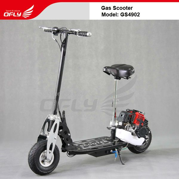 Foldable Gas Scooter with Steel Board $130~$147