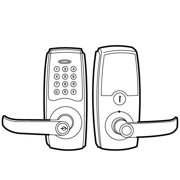 Electronic Digital Door Lock