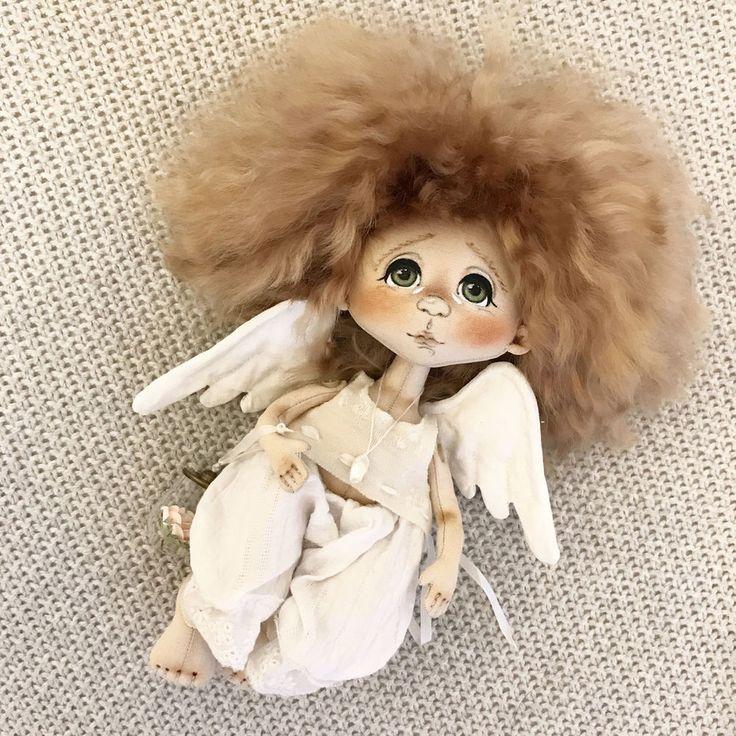 Волшебные создания: ангелы в работах мастеров-кукольников - Ярмарка Мастеров - ручная работа, handmade