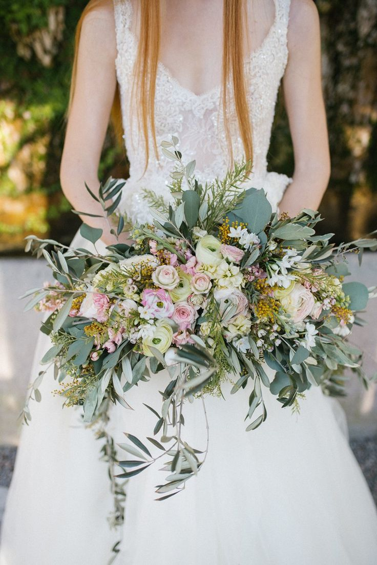 Lush Cascading Bridal Bouquet