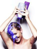 Why People Are Obsessed With Purple Shampoo #refinery29  http://www.refinery29.com/purple-shampoo  Purple shampoo and conditioner only needs to be used once a week for no longer than five minutes. So if you have blonde, gray or are transitioning to gray, no worries. This beauty regimen will not break your budget.