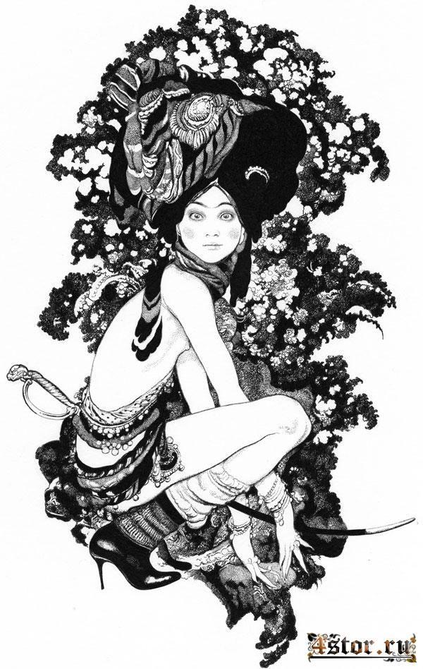 Мистические картины Вани Журавлёва - Интересное и необычное